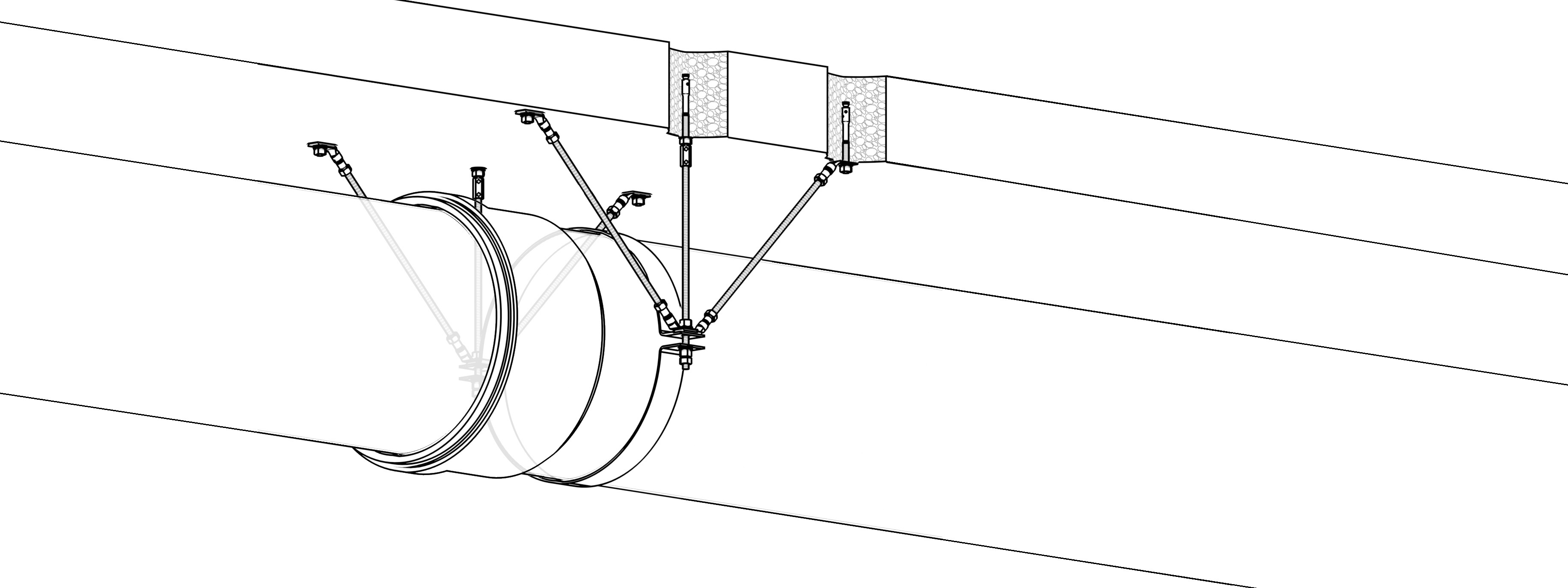 6-Punkt Festpunkt horizontal (6PH-FP)